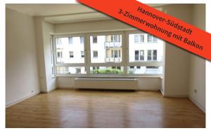 3-Zimmerwohnung Hannover-Südstadt
